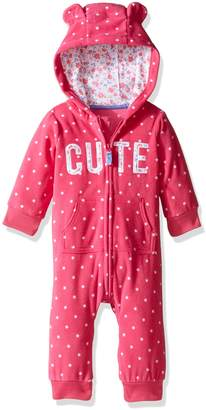 Carter's Baby Girls' 1 Piece Footies and Rompers