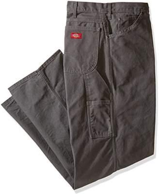 Dickies Men's Relaxed Fit Straight-Leg Duck Carpenter Jean Big