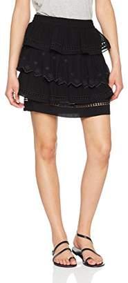 Berenice Women's TRAN Skirt, (Black)