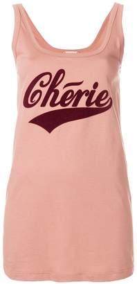 No.21 Cherie longline vest