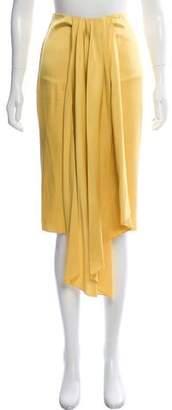 Tome Pleated Midi Skirt