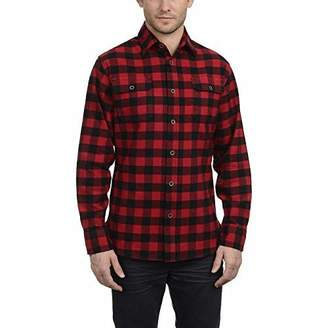 Jachs New York Men's Brawny Flannel Shirt (XLT, )