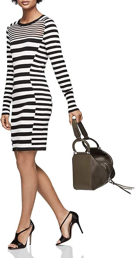 Reiss Jolie Striped Knit Dress