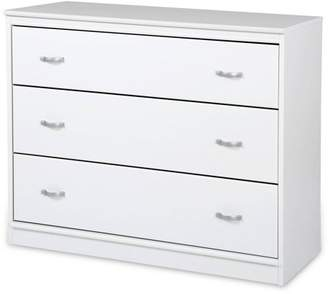 South Shore Furniture South Shore Mobby 3-Drawer Chest, Multiple Finishes