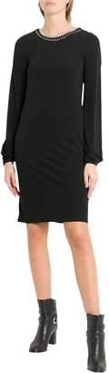 MICHAEL Michael Kors Chain-trimmed Dress