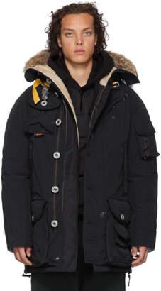 Parajumpers Black Polar Equipment Musher Jacket