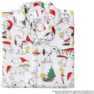 Pottery Barn Kids Snoopy® Flannel Pajama, 2T