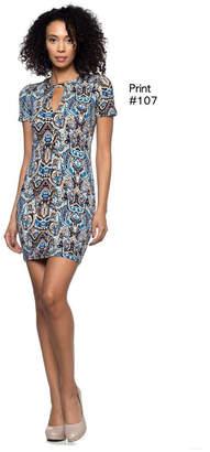 Capella Apparel Keyhole Pnt107 Dress