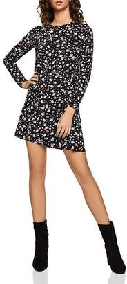 BCBGeneration Wild Flower Jersey A-Line Dress