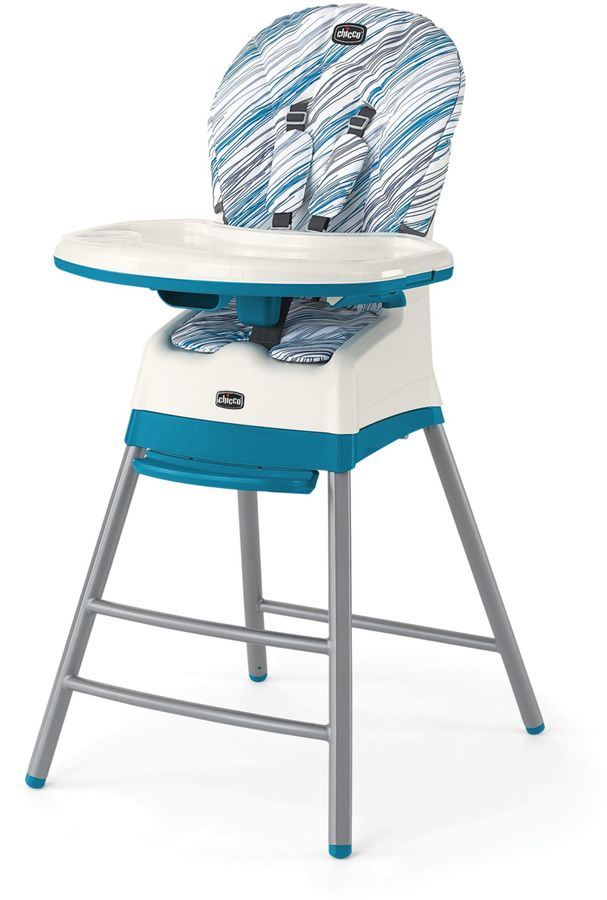 ChiccoChicco® StackTM 3-in-1 High Chair in Blue/White
