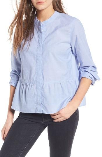 Women's Madewell Lakeside Peplum Shirt