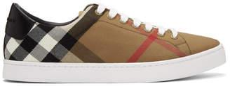 Burberry Brown Albert Sneakers