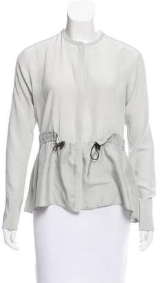 Schumacher Dorothee Long Sleeve Silk Top