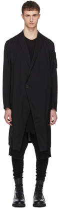 Julius Black One Button Coat