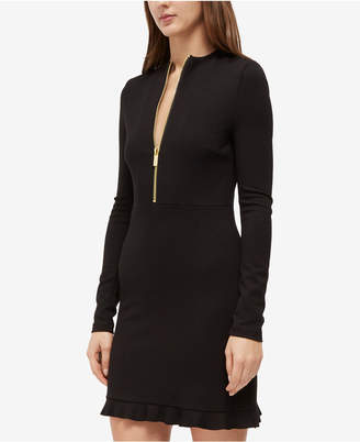 French Connection Teresa Front-Zip Dress