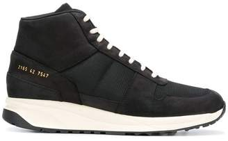 Common Projects contrasting detail hi-top sneakers
