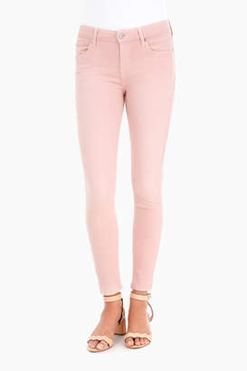7 For All Mankind Pink Tint Ankle Skinny Jeans