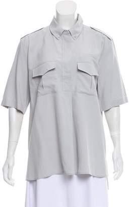 Equipment Silk Short Sleeve Top w/ Tags