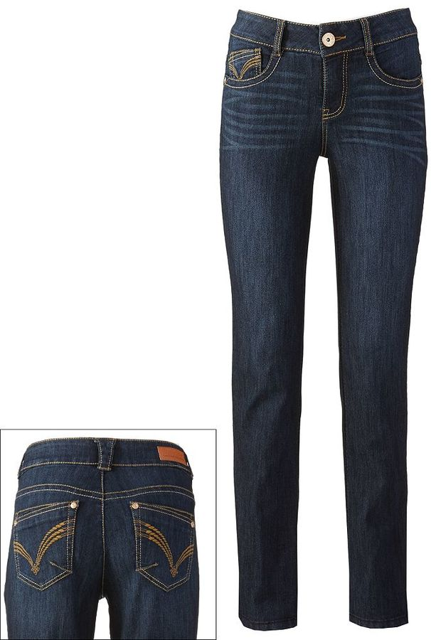 Artisan crafted by democracy embellished skinny jeans