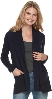 Sonoma Goods For Life Women's SONOMA Goods for Life Shawl Collar Cardigan