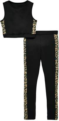 Very Girls Active Leopard Print Outfit