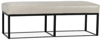 One Kings Lane Hardin Bench - Oyster Leather