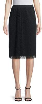Kensie Lace Midi Skirt