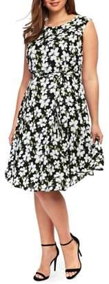 Evans Floral Dress