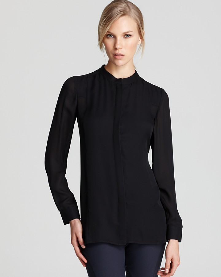 Theory Top - Misty Long Sleeve