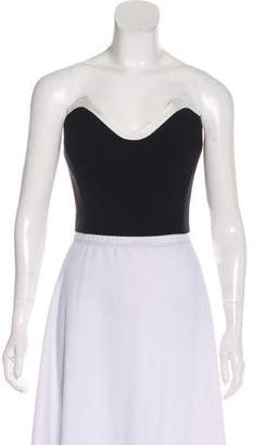 78a8316918 Black Strapless Crop Top - ShopStyle Canada