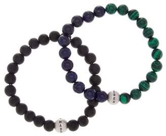Steve Madden Multi Beaded Bracelet - Set of 2