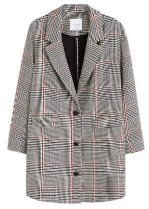 Violeta BY MANGO Prince of Wales coat