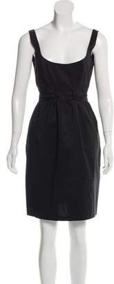 Diane von Furstenberg Sleeveless Sash-Tie Mini Dress