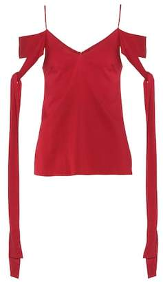 Ellery Silk-crêpe top