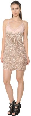 Animalier Sequined Tulle & Lace Dress $4,745 thestylecure.com
