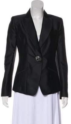 Andrew Gn Silk Embellished Blazer