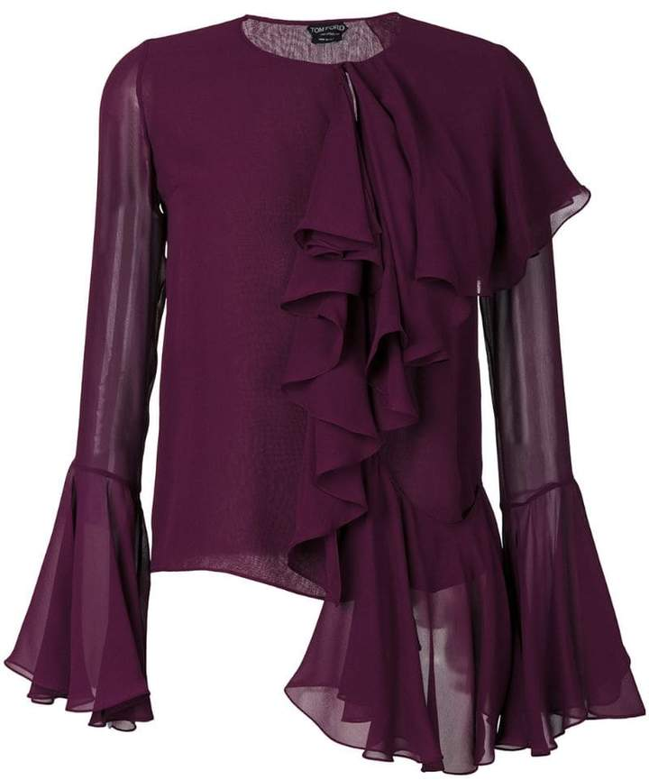 Tom Ford ruffle blouse