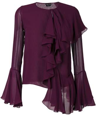 Tom Ford ruffle blouse