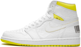 Jordan Air 1 'First Class Flight White' Shoes - Size 7