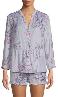Josie Two-Piece Floral Shorty Pajama Set