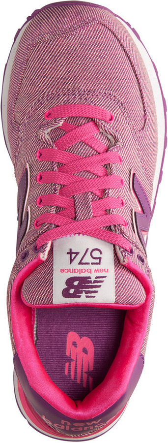 New Balance Women's 574 Glitch Casual Sneakers from Finish Line 2