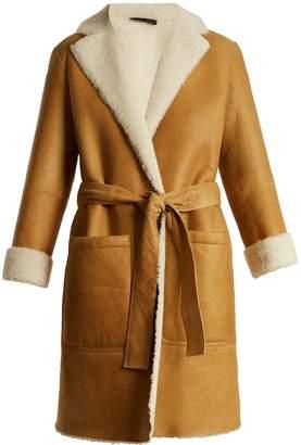 Joseph Askland reversible shearling coat