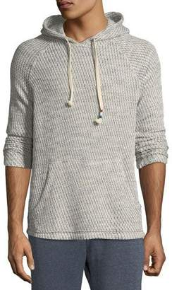 Sol Angeles Men's Chain-Link Knit Hooded Sweater