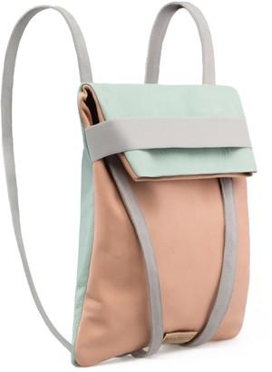 Maria Maleta A&O Backpack Light Blue & Pink