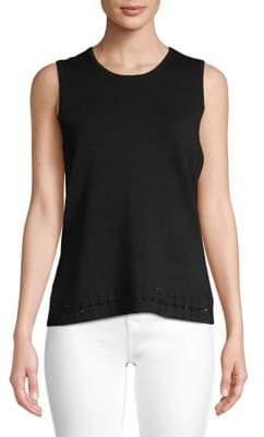 Calvin Klein Embellished Sleeveless Top