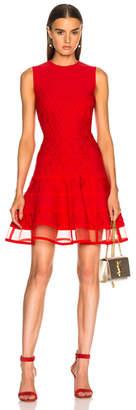 Alexander McQueen Knit Sleeveless Mini Dress