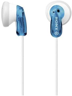 Sony Mdr-E9 In-Ear Headphones - Blue