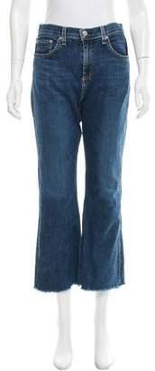 Rag & Bone Raw-Edge Flared Jeans