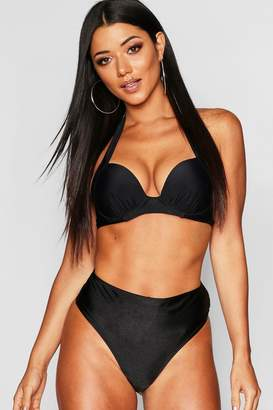 boohoo Mix & Match Push Up Underwired Moulded Top