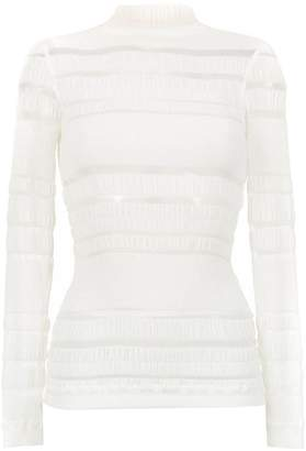 A.N.A À La Garçonne long sleeved Ruga blouse